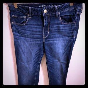 AEO Super Stretch Skinny size 12 jeans